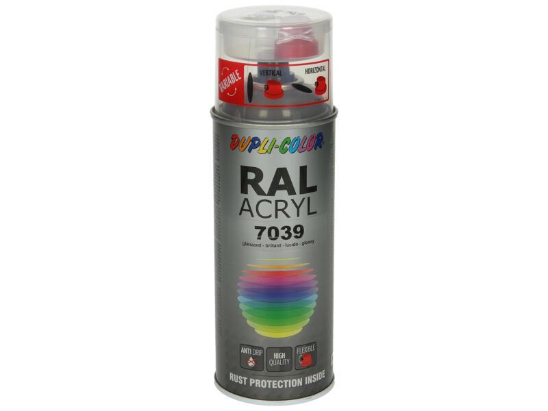 Dupli Color Acryl laque en spray brillant 0,4l gris quartz