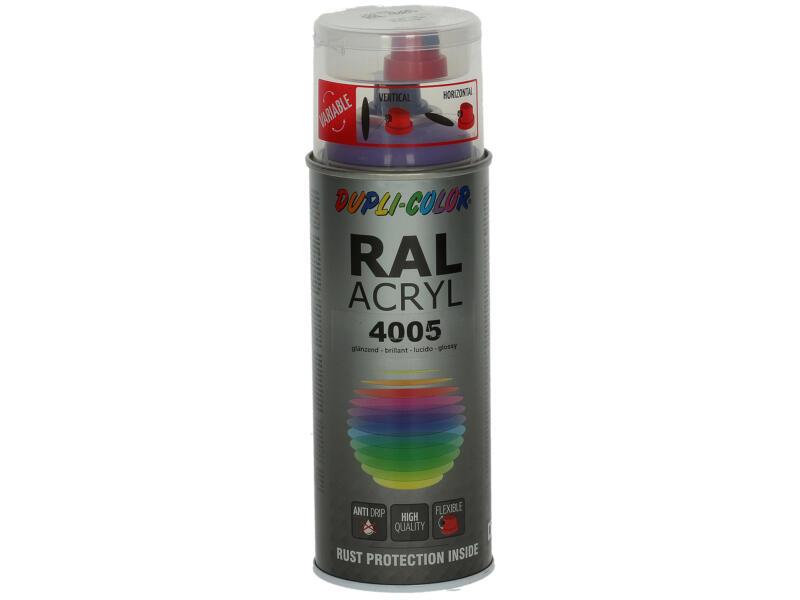 Dupli Color Acryl laque en spray brillant 0,4l lilas bleu