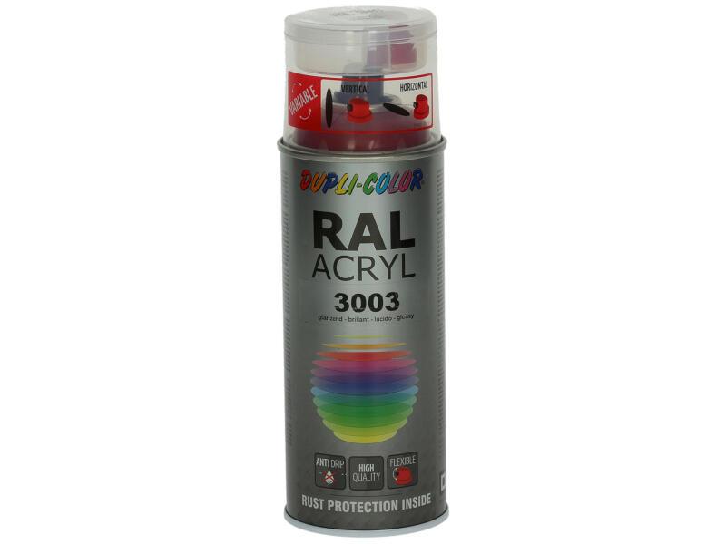 Dupli Color Acryl laque en spray brillant 0,4l rouge rubis