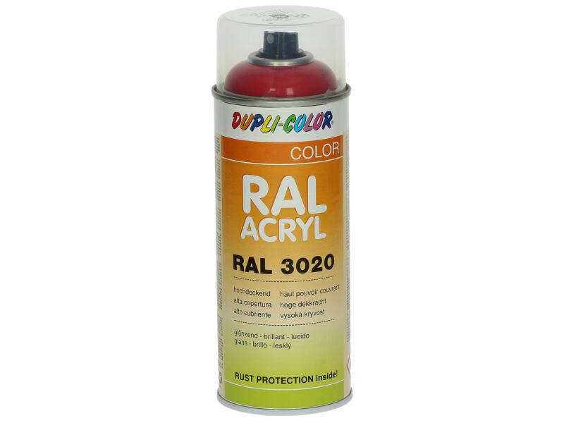 Dupli Color Acryl laque en spray brillant 0,4l rouge signalisation