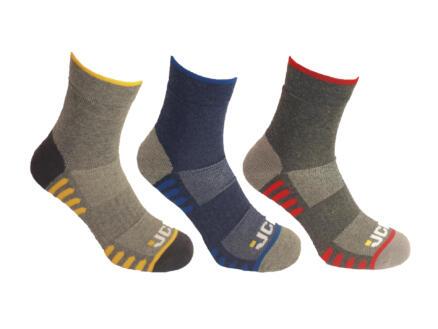 JCB Active Hybrid chaussettes été 39-43 3 paires