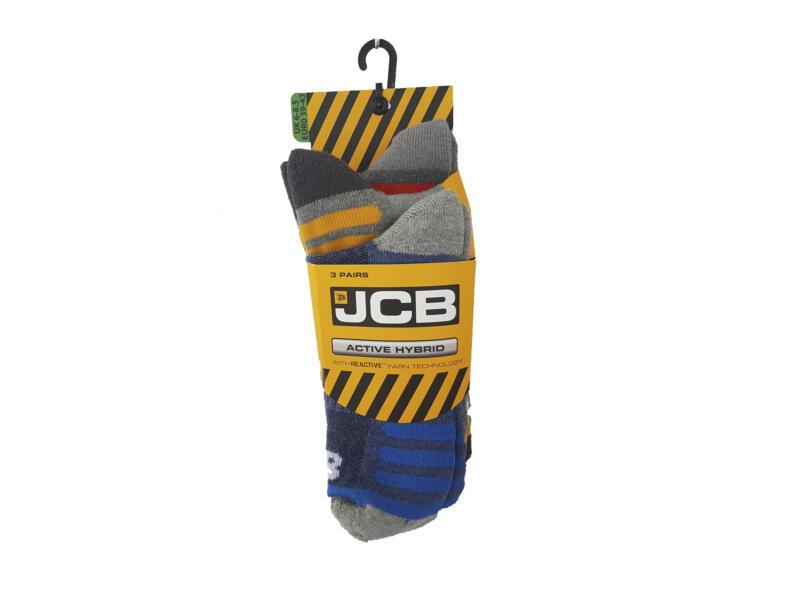 JCB Active Hybrid zomersokken 39-43 3 paar