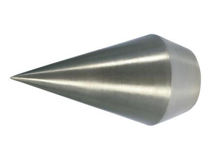 Ad Point embout pointu pour tringle à rideau pointe 20mm look inox 2 pièces