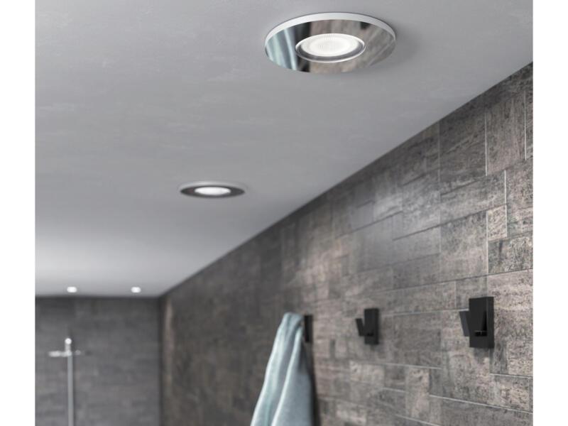 Philips Hue Adore White Ambiance LED inbouwspot GU10 5W dimbaar chroom
