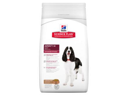 Hill's Adult Advanced Fitness Medium Breed croquettes chien lamb & rice 12kg