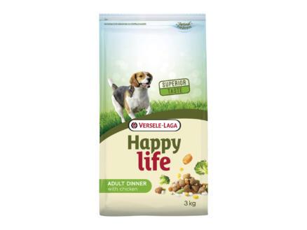 Happy Life Adult Dinner hondenvoer kip 3kg