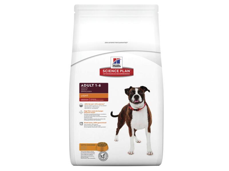 Hill's Adult Light hondenvoer chicken 12kg