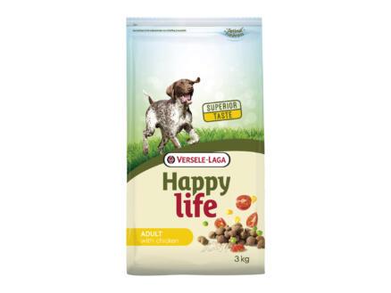 Happy Life Adult croquettes chien poulet 3kg
