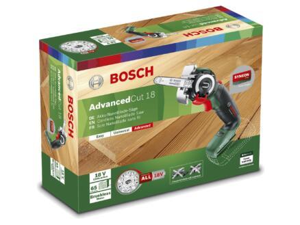 Bosch AdvancedCut 18 accu microkettingzaag 18V Li-Ion zonder accu