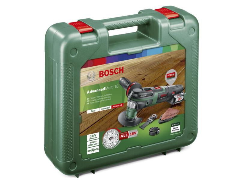 Bosch AdvancedMulti 18 accu multitool 18V Li-Ion