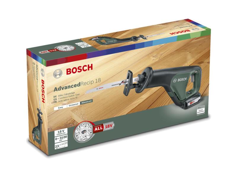 Bosch AdvancedRecip 18 accu reciprozaag 18V Li-Ion