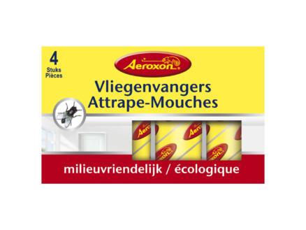 Edialux Aeroxon attrape-mouches 4 pièces