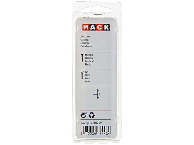 Mack Afdekkapjes wit 40 stuks