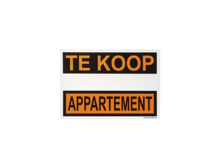 Affiche appartement te koop 33x23 cm