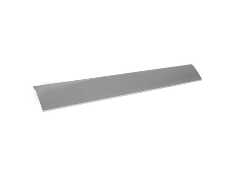Afwerkprofiel type C1 0,7mm zink