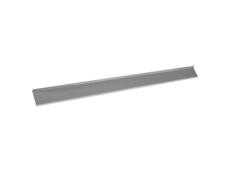 Afwerkprofiel type E 0,7mm zink