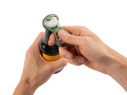 Nite Ize Ahhh S-karabijnhaak flessenopener groen