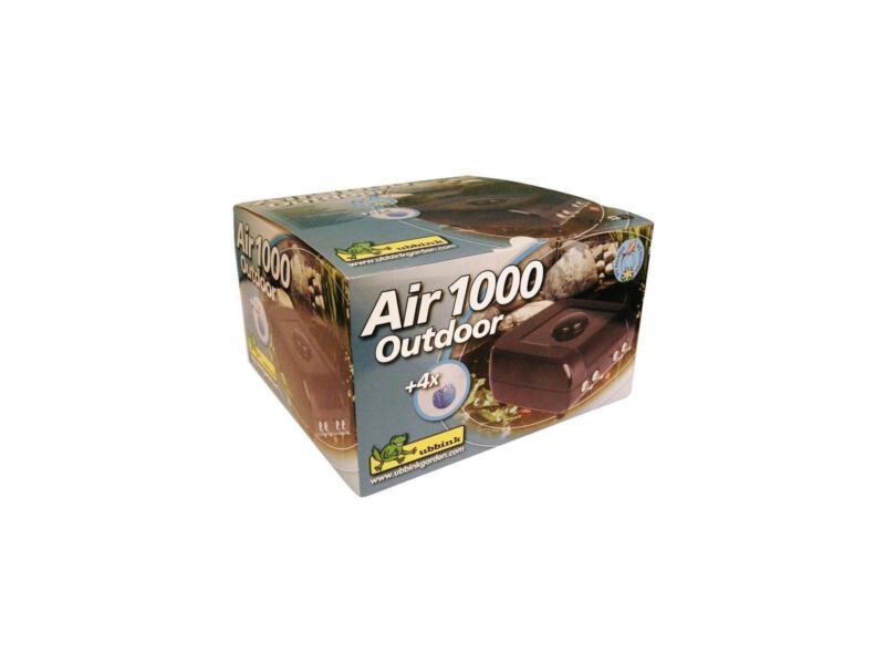 Air 1000 pompe d'aération pour bassin de jardin 900l