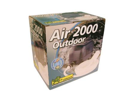 Air 2000 pompe d'aération pour bassin de jardin 1800l