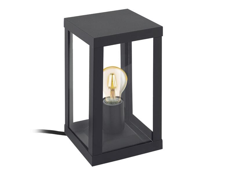 Eglo Alamonte lampe de table E27 max. 60W noir