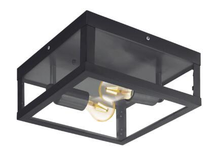 Eglo Alamonte plafonnier extérieure E27 max. 2x60 W noir