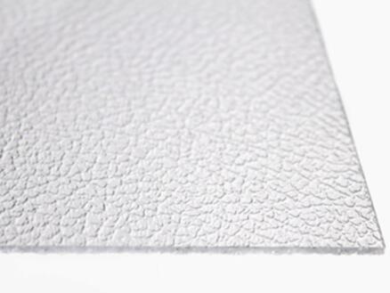 Scala Alaska plaat 100x100 cm 2,5mm polystyreen kristal