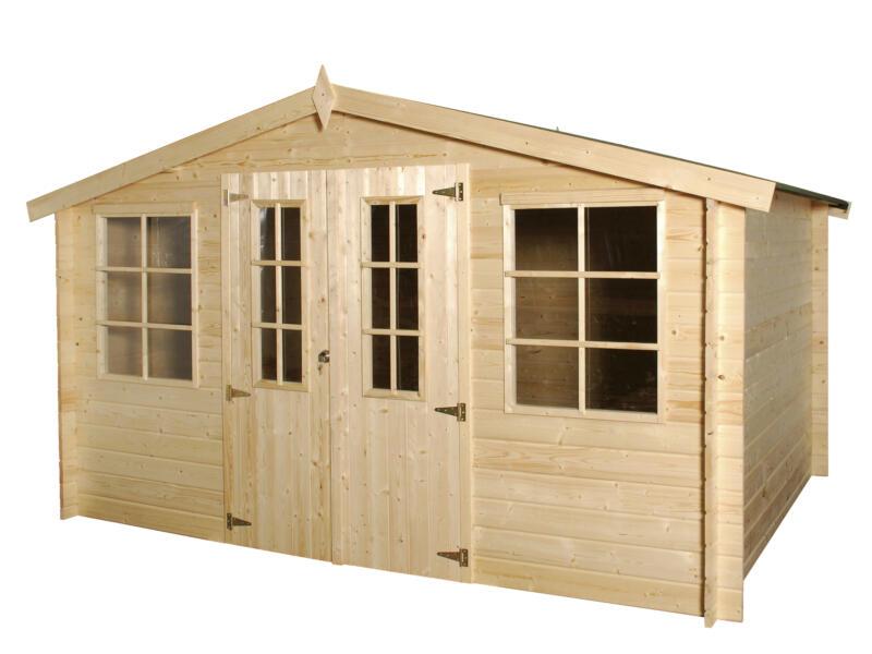 Gardenas Alberta tuinhuis 385x295x213 cm hout