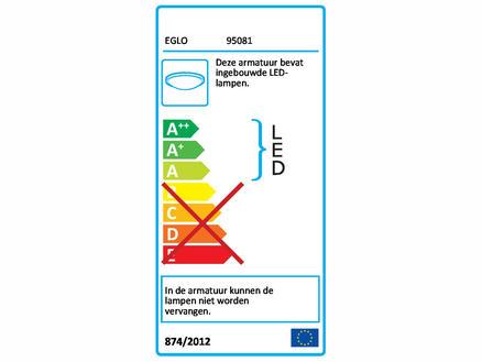 Eglo Alfena-s LED wandlamp 10W wit