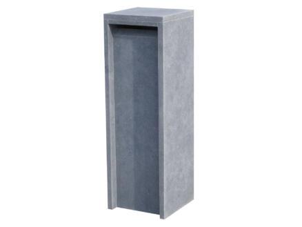 VASP Alicante Moderne boîte aux lettres pierre bleue belge