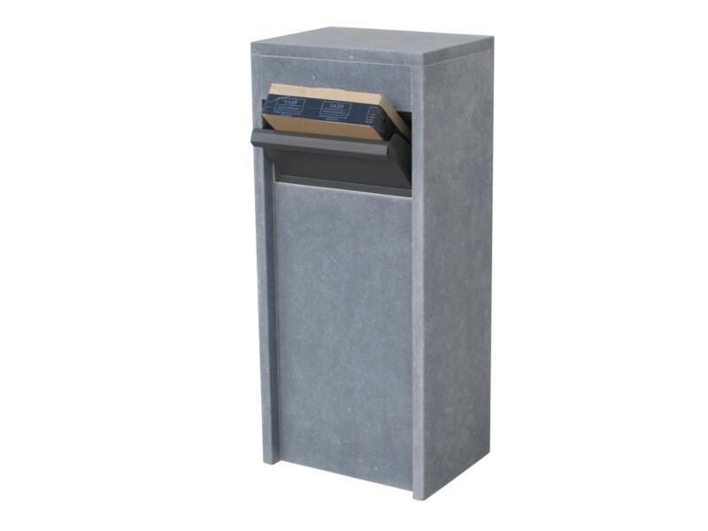 VASP Alicante Parcel brievenbus belgische blauwe steen