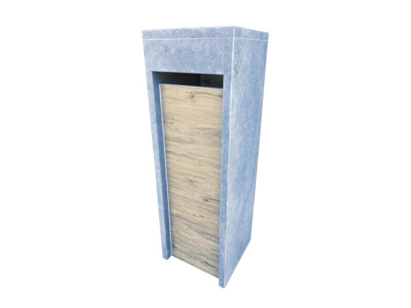 VASP Alicante Woodlook boîte aux lettres pierre bleue belge