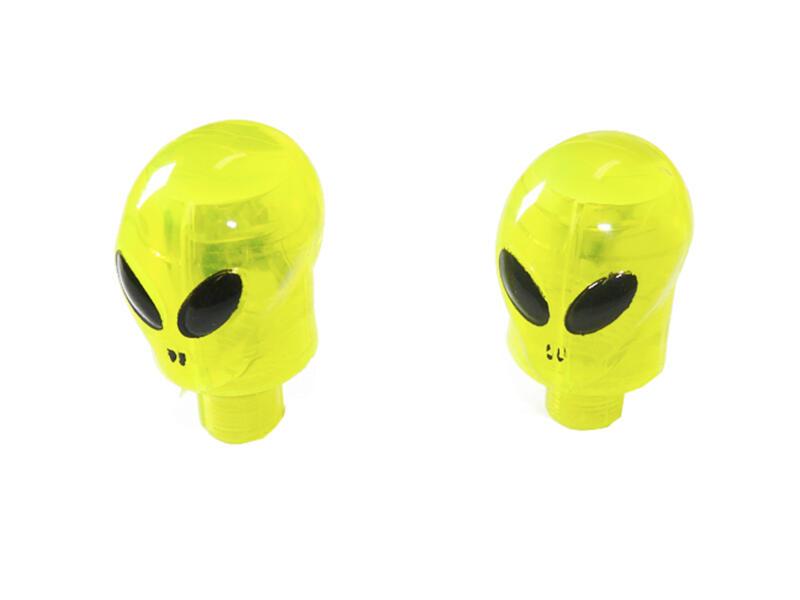 Maxxus Alien ventielkapjes LED  2 stuks