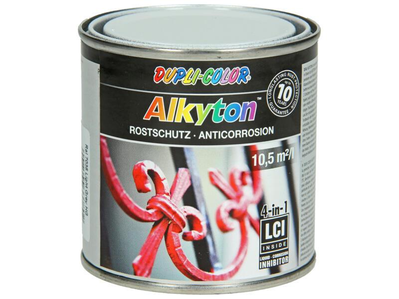 Dupli Color Alkyton laque antirouille brillant 0,25l gris clair