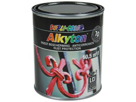 Dupli Color Alkyton laque antirouille martelé 0,75l noir