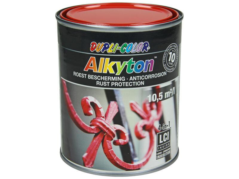 Dupli Color Alkyton roestbeschermingslak hoogglans 0,75l verkeersrood