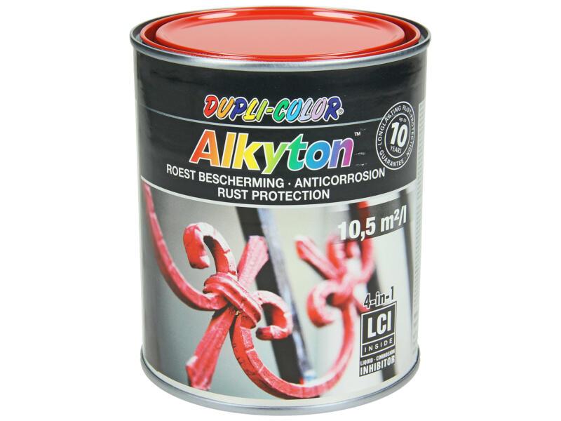Dupli Color Alkyton roestbeschermingslak hoogglans 0,75l vuurrood
