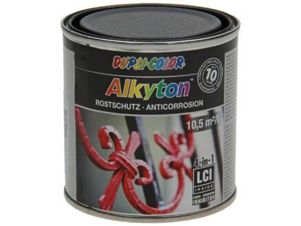 Dupli Color Alkyton roestbeschermingslak iron mica 0,25l zwart