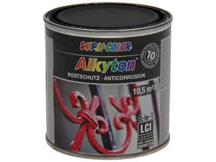 Dupli Color Alkyton roestbeschermingslak mat 0,25l gitzwart