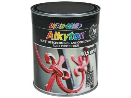 Dupli Color Alkyton roestbeschermingslak mat 0,75l gitzwart