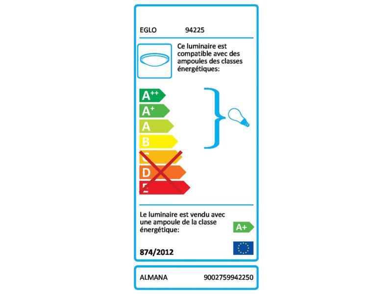 Eglo Almana applique pour mur ou plafond LED GU10 3x3 W chrome