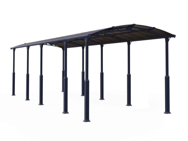 Palram Alpine 10600 carport 359x217x1077 cm métal bronze/gris