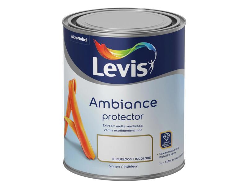 Levis Ambiance Protector laque intérieur extra mat 1l incolore