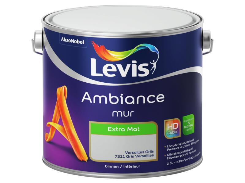 Levis Ambiance muurverf extra mat 2,5l Versailles grijs