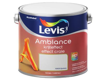 Levis Ambiance peinture murale effet craie 2,5l quinoa