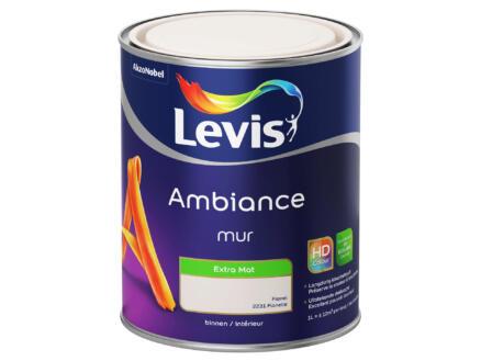Levis Ambiance peinture murale extra mat 1l flanelle