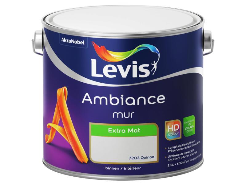 Levis Ambiance peinture murale extra mat 2,5l quinoa