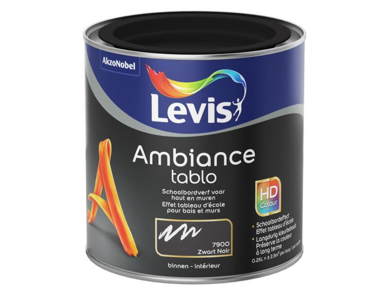 Levis Ambiance schoolbordverf 0,25l blackboard black