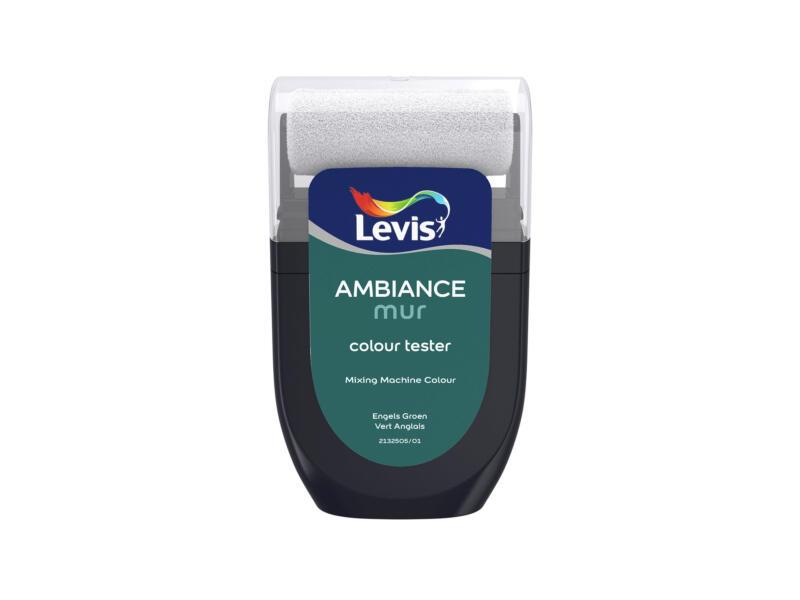 Levis Ambiance tester muurverf extra mat 30ml Engels groen