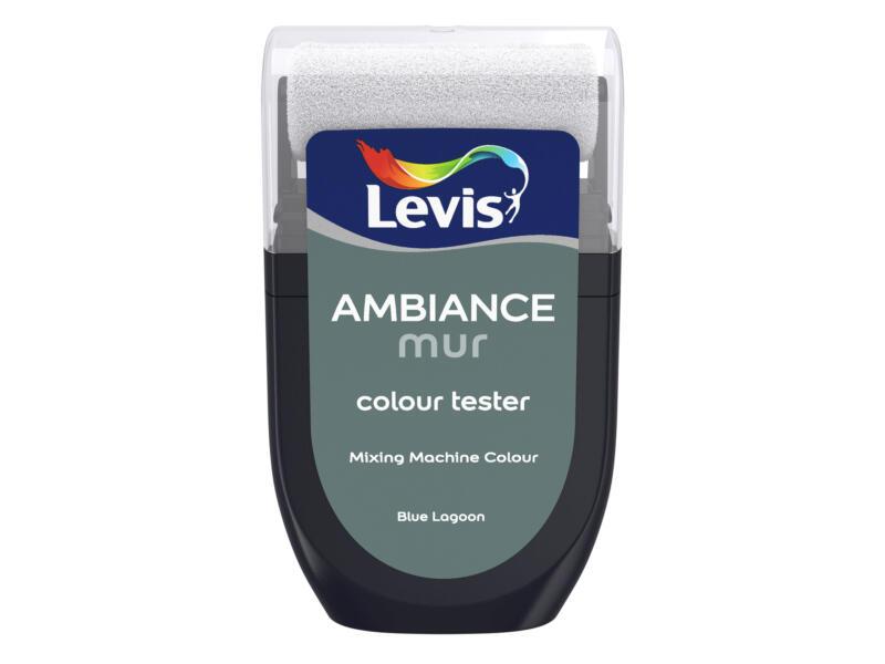 Levis Ambiance tester muurverf extra mat 30ml blue lagoon