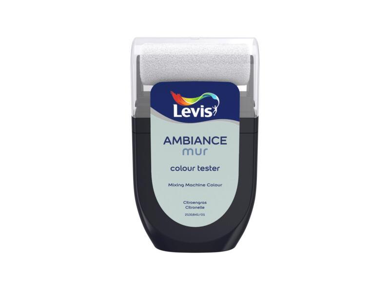 Levis Ambiance tester muurverf extra mat 30ml citroengras